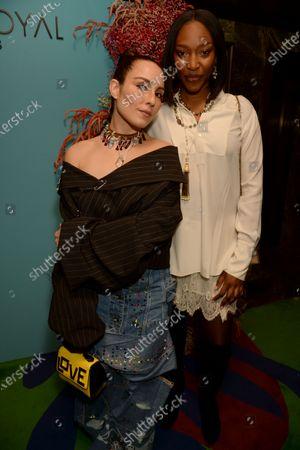 Noomi Rapace and Vanessa Kingori