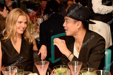 Stock Image of Donna Air and Han Chong