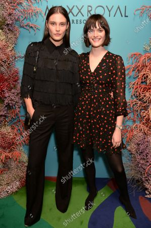 Stock Image of Charlotte Wiggins and Sam Rollinson