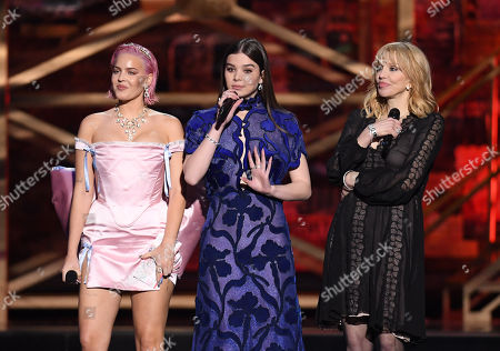 Anne-Marie Rose Nicholson, Hailee Steinfeld and Courtney Love