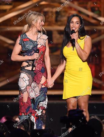 Ellie Goulding and Jorja Smith