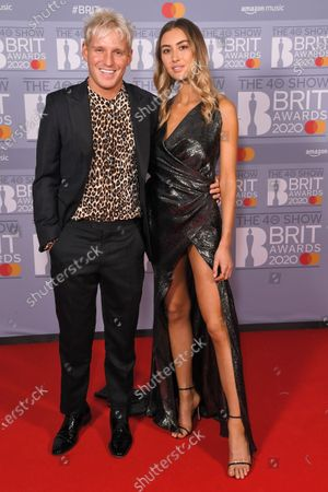 Editorial photo of 40th Brit Awards, VIP Arrivals, The O2 Arena, London, UK - 18 Feb 2020