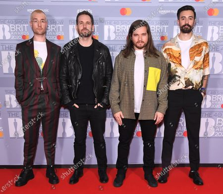 Editorial picture of 40th Brit Awards, VIP Arrivals, The O2 Arena, London, UK - 18 Feb 2020
