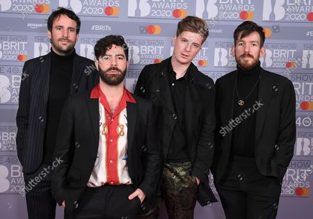 Foals - Jimmy Smith, Yannis Philippakis, Jack Bevan and Edwin Congreave