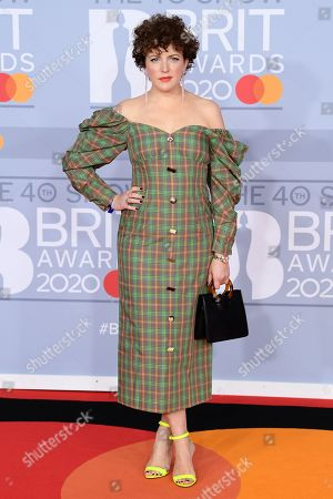 Editorial photo of 40th Brit Awards, Arrivals, The O2 Arena, London, UK - 18 Feb 2020