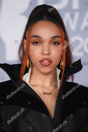Editorial picture of 40th Brit Awards, Arrivals, The O2 Arena, London, UK - 18 Feb 2020