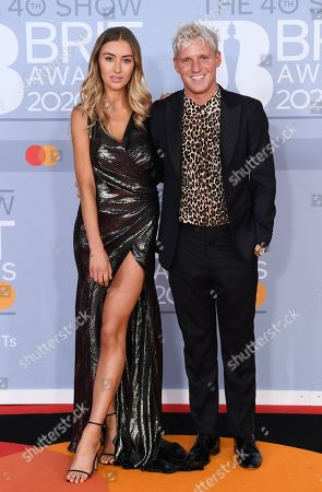 Stock Image of Jamie Laing and Sophie Habboo
