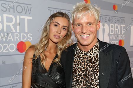 Sophie Habboo and Jamie Laing