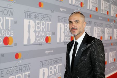 Editorial picture of 40th Brit Awards, Roaming Arrivals, The O2 Arena, London, UK - 18 Feb 2020