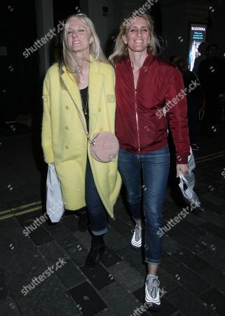 Joely Richardson and girlfriend