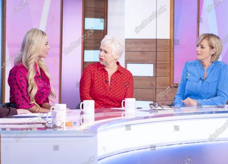 Christine McGuinness, Denise Welch and Jane Moore