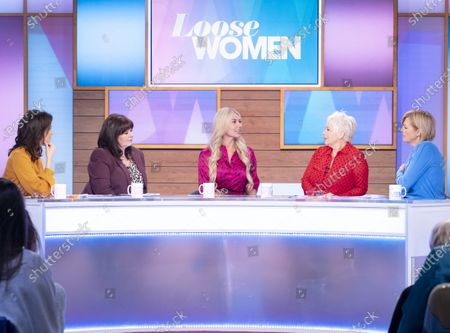 Andrea McLean, Coleen Nolan, Christine McGuinness, Denise Welch and Jane Moore