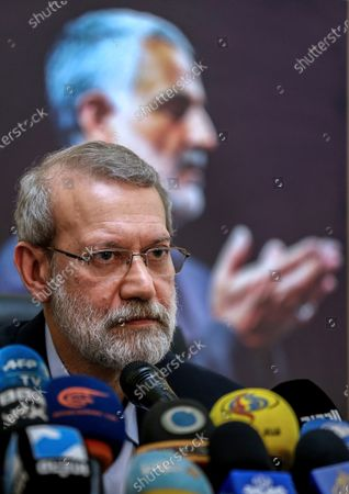 Editorial picture of Iranian Parliament Speaker Ali Larijani visits Lebanon, Beirut - 17 Feb 2020