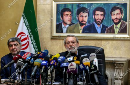 Editorial image of Iranian Parliament Speaker Ali Larijani visits Lebanon, Beirut - 17 Feb 2020