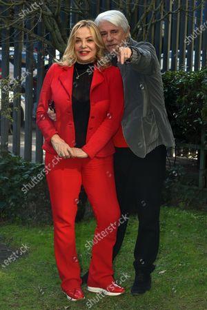 Stock Photo of Simona Izzo and Ricky Tognazzi