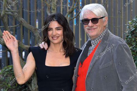 Stock Image of Luisa Ranieri and Ricky Tognazzi