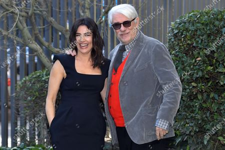 Stock Picture of Luisa Ranieri and Ricky Tognazzi