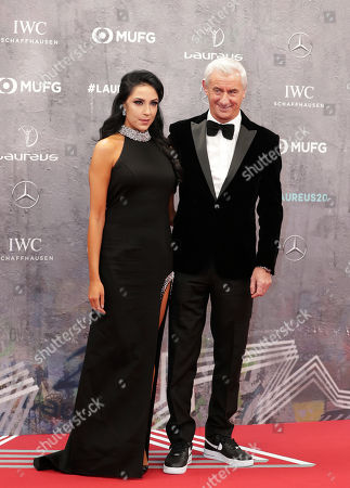Liverpool and Wales soccer great Ian Rush arrives for the 2020 Laureus World Sports Awards in Berlin, Germany