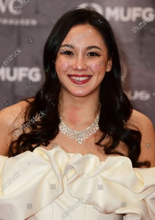 Paralympic swimmer Alice Tai of Great Britain arrives for the Laureus World Sports Awards ceremony at the Verti Music Hall in Berlin, Germany, 17 February 2020.