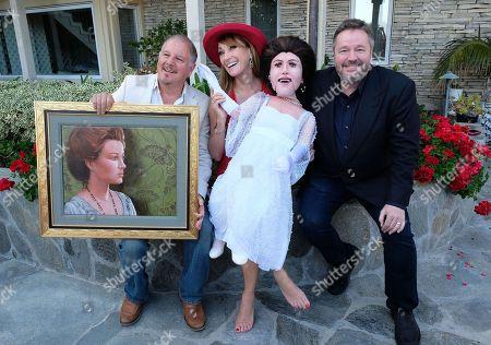 Stock Photo of Terry Fator, Jane Seymour