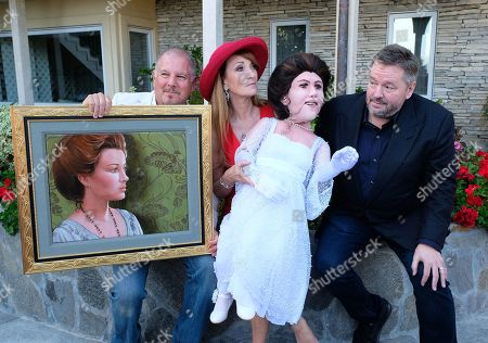Stock Picture of Terry Fator, Jane Seymour