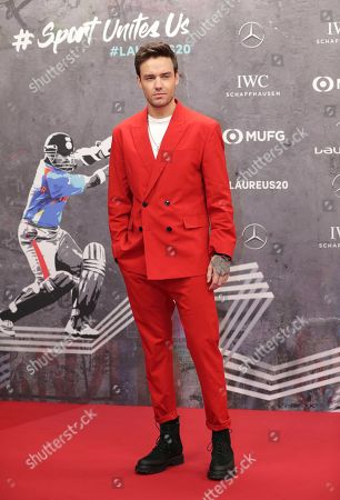Singer Liam Payne arrives for the 2020 Laureus World Sports Awards where he is scheduled to perform in Berlin, Germany