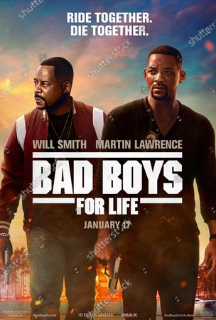 Bad Boys For Life (2020) Poster Art. Martin Lawrence as Marcus Burnett and Will Smith as Mike Lowery