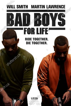 Bad Boys For Life Poster Art. Will Smith as Mike Lowery and Martin Lawrence as Marcus Burnett