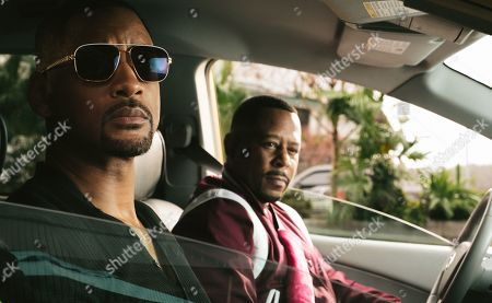 Will Smith as Mike Lowery and Martin Lawrence as Marcus Burnett