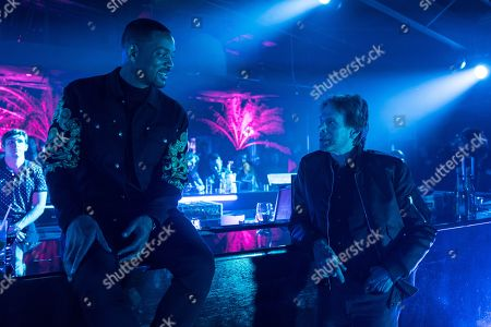 Stock Picture of Will Smith as Mike Lowery and Jerry Bruckheimer Producer