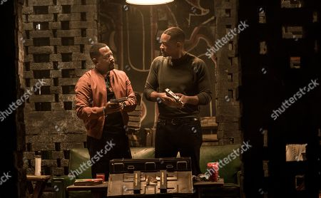 Martin Lawrence as Marcus Burnett and Will Smith as Mike Lowery