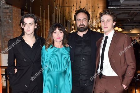Stock Picture of Earl Cave, Essie Davis, Justin Kurzel and George MacKay