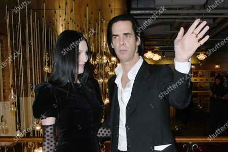 Stock Picture of Susie Bick and Nick Cave