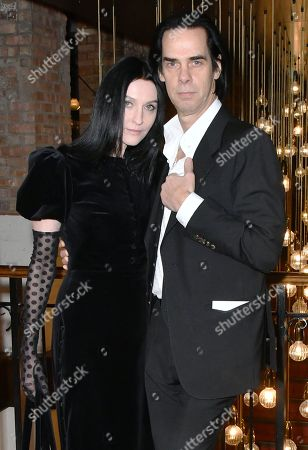 Stock Image of Susie Bick and Nick Cave