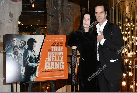 Editorial picture of 'True History Of The Ned Kelly Gang' film premiere, London, UK - 17 Feb 2020