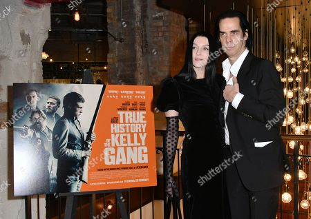 Stock Photo of Susie Bick and Nick Cave