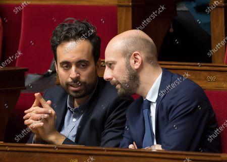 Mounir Mahjoubi and Stanislas Guerini