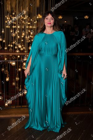 Essie Davis poses for photographers during a UK charity premiere for the film 'True History of the Kelly Gang' at a central London cinema