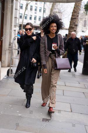 Stock Photo of Julia Sarr-Jamois (right)