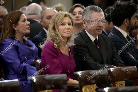 Alicia Koplowitz and Alberto Ruiz-Gallardon