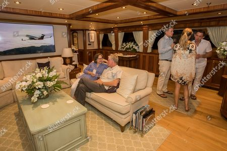 Stock Photo of Flexjet, one of the largest fractional private jet providers, hosted its private jet Owners, on a private MegaYacht ? renamed for the evening 'Thyme Well Spent.' The event at the exclusive Ocean Reef Club in Key Largo, Fla included an evening of live music, cuisine prepared by Celebrity Chef Emeril Lagasse and hosted by Flexjet CEO Michael Silvestro