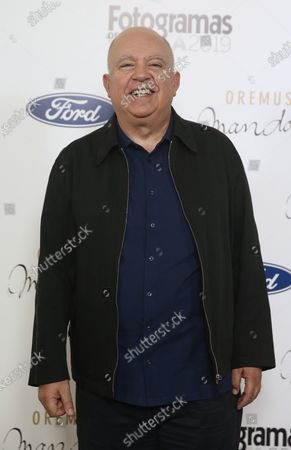 Stock Image of Agustin Almodovar poses for the media during the photocall of the Fotogramas de Plata Awards in Madrid, Spain, 17 February 2020. The award by the Spanish movie magazine 'Fotogramas' is presented in various categories since 1951.