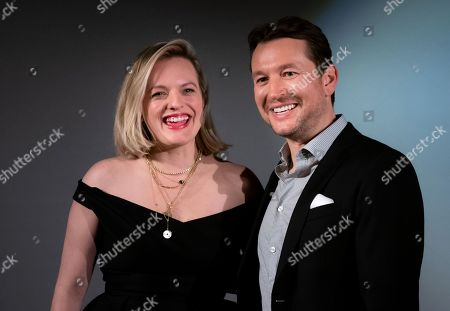 Elisabeth Moss and Leigh Whannell