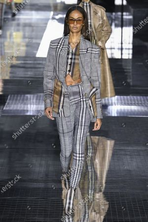 Joan Smalls on the catwalk