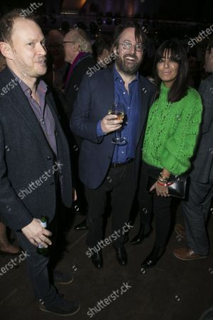 Stock Picture of Robert Webb, David Mitchell (Shakespeare) and Claudia Winkleman