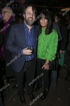 David Mitchell (Shakespeare) and Claudia Winkleman