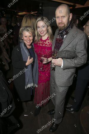 Imelda Staunton, Victoria Coren Mitchell and Sean Foley (Director)