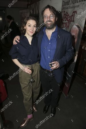 Stock Picture of Gemma Whelan (Kate) and David Mitchell (Shakespeare)