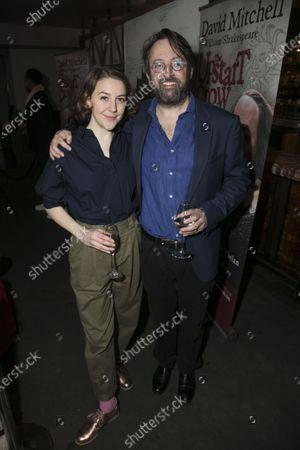 Gemma Whelan (Kate) and David Mitchell (Shakespeare)
