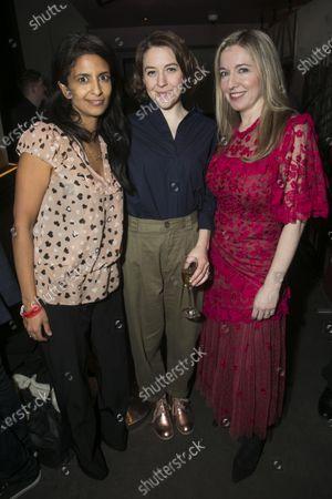 Stock Photo of Konnie Huq, Gemma Whelan (Kate) and Victoria Coren Mitchell